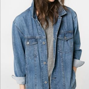Mango Oversized Denim Jacket
